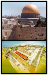 Dome of the Rock and Third Temple