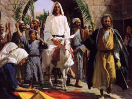 When Jesus arrived in Jerusalem prior to Passover the people greeted Him with Palm branches on his triumphant entry. The people viewed Him as the Messiah ... & 10. The Feast of Tabernacles (Sukkoth)