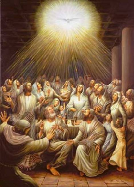 The Feast Of Pentecost Is Also Known As Weeks This Day Plays A Significant Role In Church Holy Spirit Came