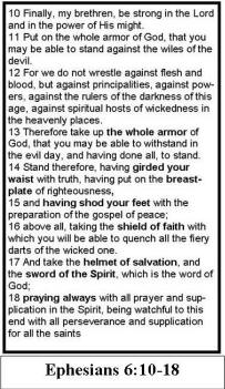 Top Five The Whole Armor Of God Book Pdf - Circus