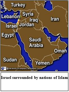 Israel-Islam-Map