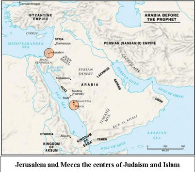 Islam Israel And Bible Prophecy - Where is jerusalem